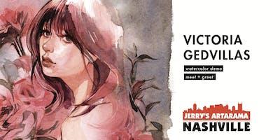 Victoria Gedvillas Meet and Greet + Watercolor Demo