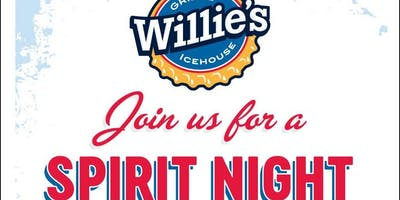 Willie's Grill & Ice House Spirit Night