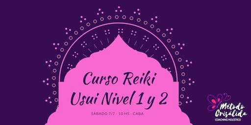 Curso Reiki Usuí Nivel 1 y 2