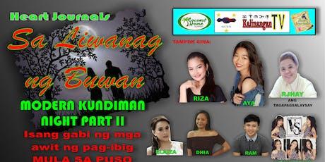"""""""Sa Liwanag ng Buwan"""" Modern Kundiman Night Part II tickets"""