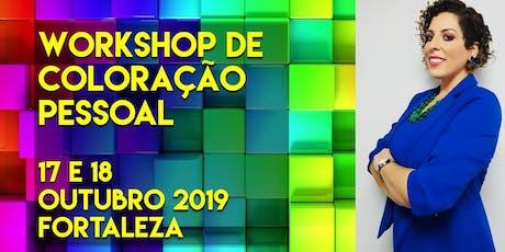 Workshop de Coloração Pessoal para Consultores de Imagem ingressos