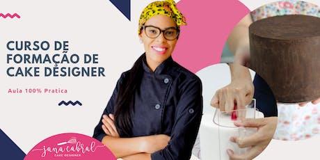 Curso de confeitaria -formacao de cake designer ingressos