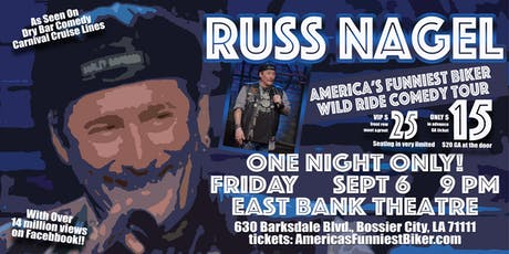 America's Funniest Biker Wild Ride Comedy Tour! tickets