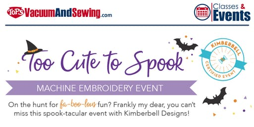 Kimberbell 'Too Cute To Spook' Machine Embroidery Event | Palm Harbor
