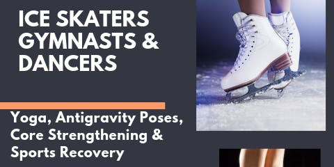 Yoga for Ice Skaters, Gymnasts & Dancers 4 Week Series