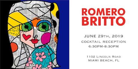 Celebrate Summer at Britto Fine Art Gallery tickets