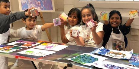 For the love of Deptford - Fluid Art (5-10 years) tickets
