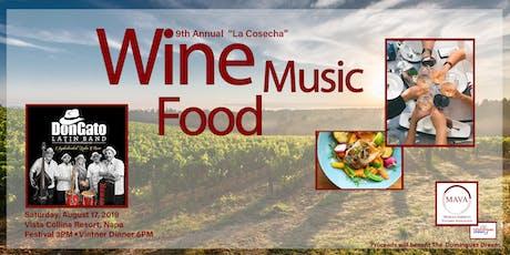 """2019 """"La Cosecha"""" Wine Harvest Festival tickets"""