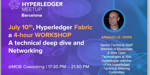 Blockchain Development- HYPERLEDGER FABRIC - 4-hour WORKSHOP+ Networking
