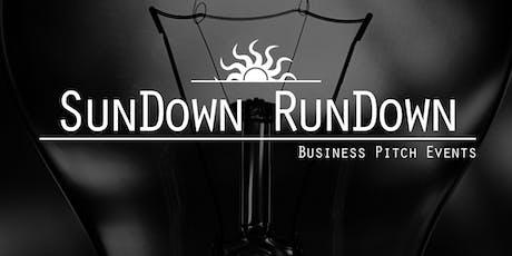 SunDown RunDown Business Pitch Event - Mansfield tickets