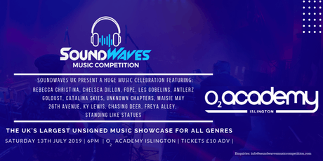 FREYA ALLEY at SoundWaves Music Competition FINALS tickets