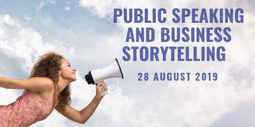 Public Speaking & Business Storytelling for Leaders