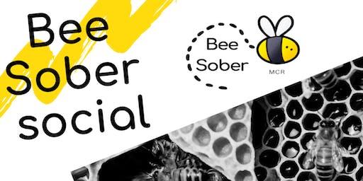 Bee Sober Christmas Wreath Workshop
