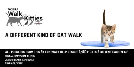 VOKRA Walk for the Kitties 2019 tickets