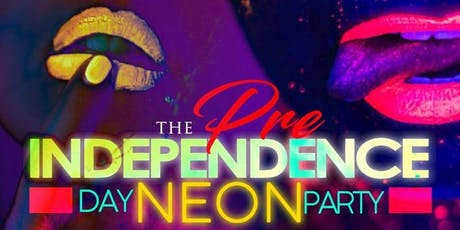 RED, WHITE, & NEON! Pre-Independence Day Bash! Wednesday July 3rd  tickets