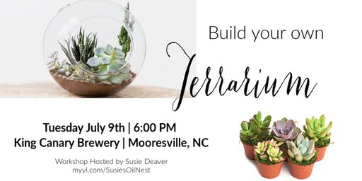 Build Your Own Terrarium Workshop - King Canary