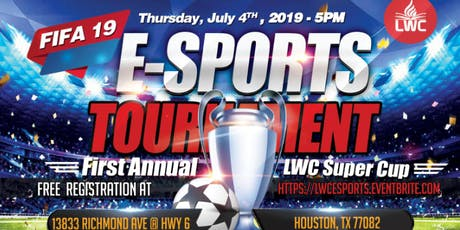 LWC ESPORTS FIFA 19 SUPER CUP TOURNAMENT(XBOX 1 & PS4) tickets