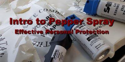 November Intro to Pepper Spray