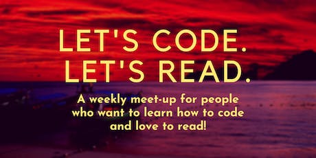 Let's Code. Let's Read. tickets