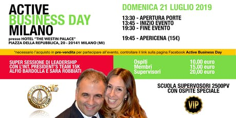 Active Business Day Milano - 21 Luglio 2019 tickets