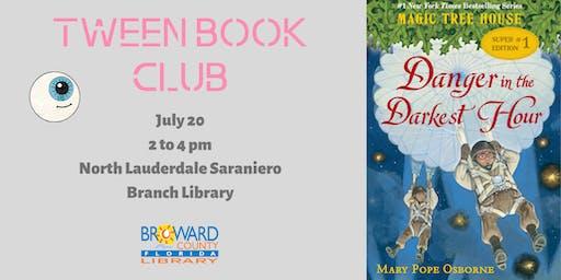 Book Talk: Danger in the Darkest Hour, by Mary Pope Osborne