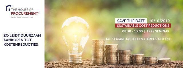 Zo leidt duurzaam aankopen tot kostenreducties