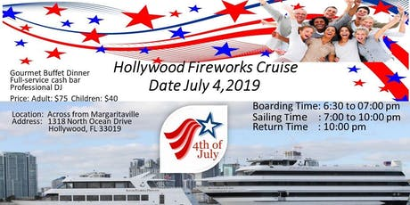 4th July Dinner Cruise tickets