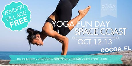 1st Annual Yoga Fun Day Space Coast - Yoga Festival 2019 tickets