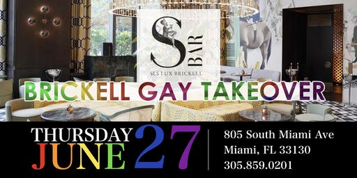 S BAR BRICKELL GAY TAKEOVER - JUNE