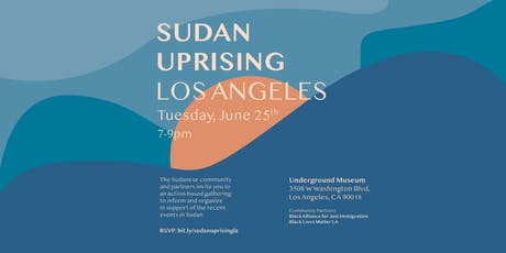 Sudan Uprising: Los Angeles tickets
