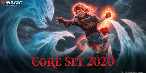 Core Set 2020 Magic the Gathering Pre-Release Friday, Saturday, and Sunday