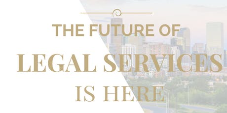 The Future Of Legal Services Opportunity Overview tickets
