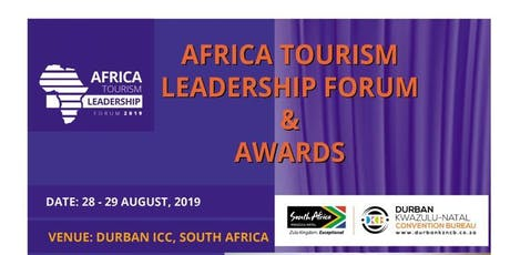 2019 Africa Tourism Leadership Forum and Awards tickets