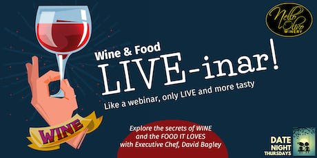 Wine & Food LIVE-inar! tickets