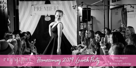 Homecoming Launch Party & Fashion Show tickets
