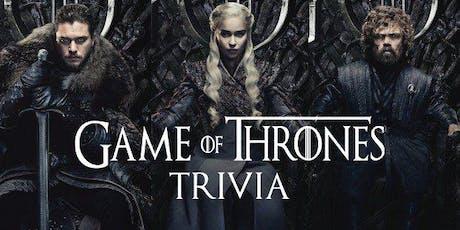 Thrones Trivia - Free Event tickets