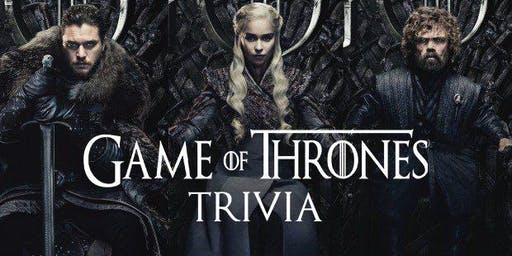 Thrones Trivia - Free Event