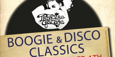 Schakel 49 presents Paradise Garage tickets