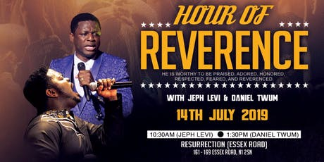 Hour of Reverence 9 tickets