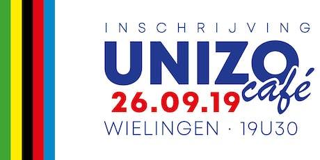 UNIZO Café met Sven Nys tickets