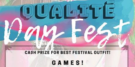Qualite Day Fest tickets