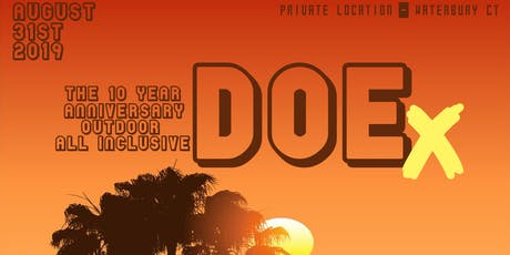 DOEx10 Year Anniversary Outdoor ALLxInclusive tickets