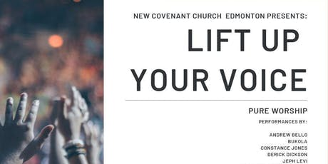 Lift up your voice tickets