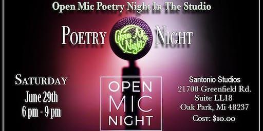 Creative Arts Group - Open Mic Poetry Night