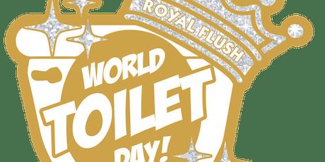 2019 World Toilet Day 1 Mile, 5K, 10K, 13.1, 26.2 - Raleigh tickets