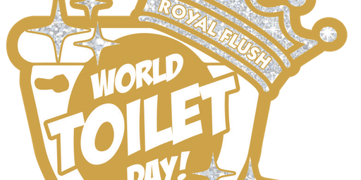2019 World Toilet Day 1 Mile, 5K, 10K, 13.1, 26.2 - Charleston