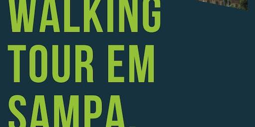 Walking Tour em Sampa - Tour República e Consolação