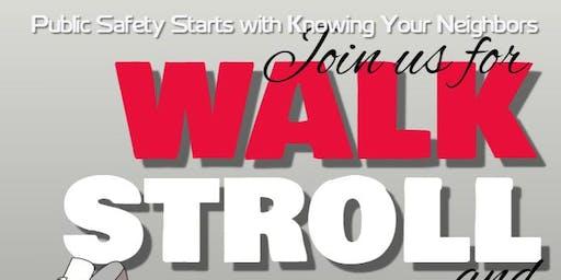 Walk, Stroll, and Talk South Shore |Meet-up 6 pm - 6:30 pm | Walk 6:30 pm - 7:30 pm