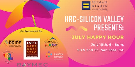 HRC Silicon Valley Presents: July 2019 Happy Hour tickets