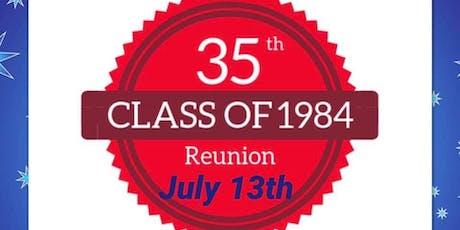 LHS Class of 1984 35th Class Reunion tickets